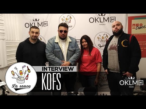 """KOFS ( """"V"""", premier album, vécu, le cinéma, son fils...) - #LaSauce sur OKLM Radio 15/11/18"""