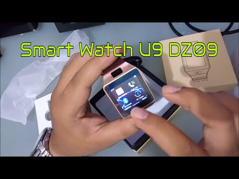 Smart Watch U9 DZ09 Support SIMcard & Micro SD Card