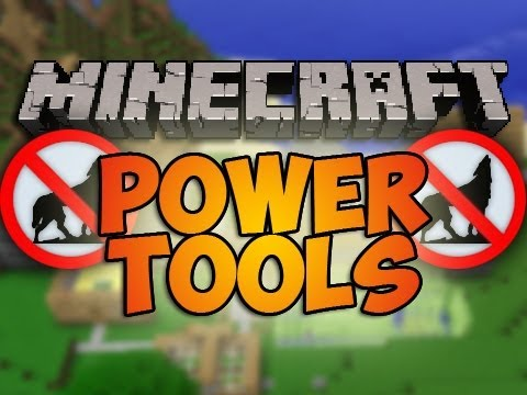minecraft how to get power tool