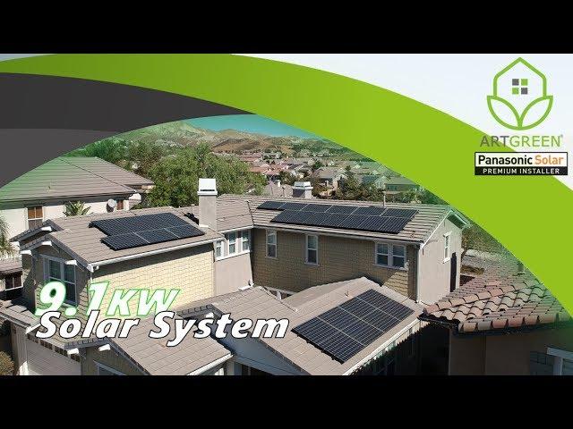 Money Saving Solar Panels System...