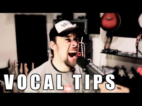 Vocal tips: effects/recording/live