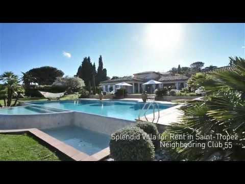 Saint Tropez Villa, Virtual Tour [Trailer] / Visite Virtuelle Villa St Tropez