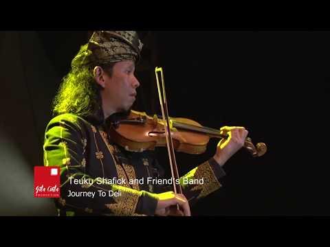 Jakarta Melayu Festival 2017 -  Journey To Deli  - Tengku Shafick and Friend's Band
