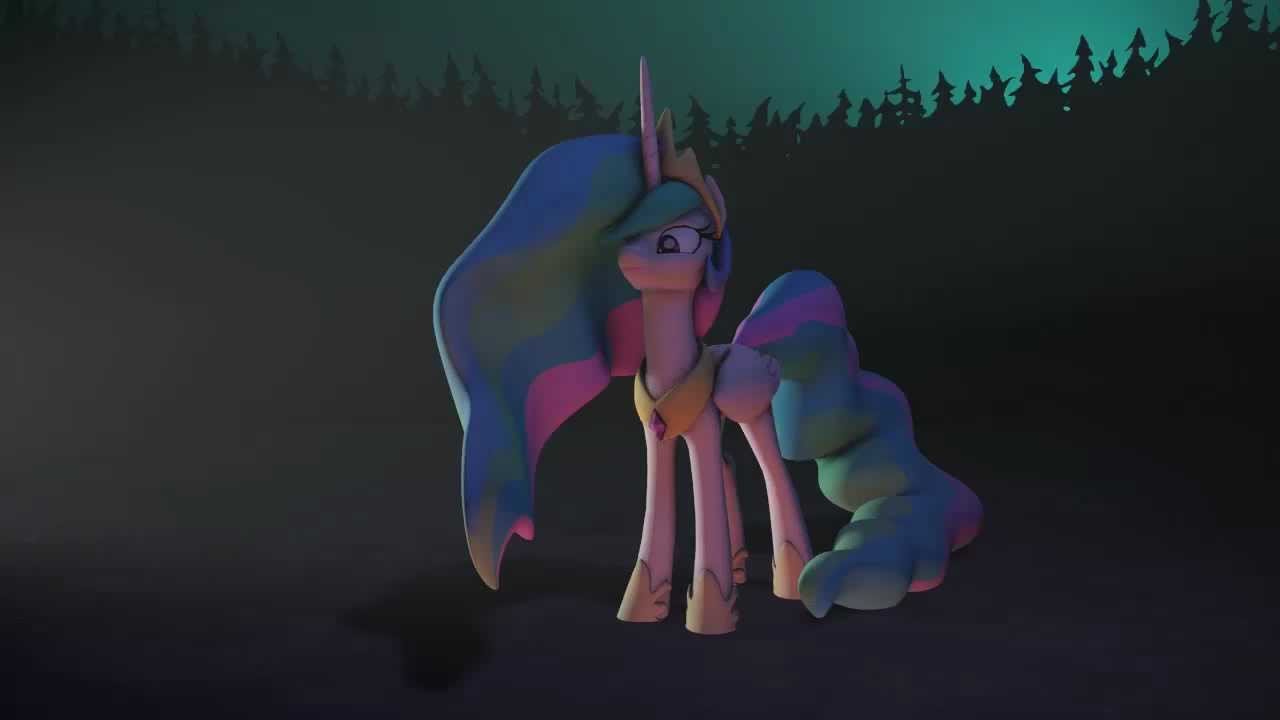 SFM Ponies Princess Celestia As A DOTA Hero YouTube