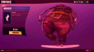 FORTNITE WIGGLE DANCE EMOTE BASS BOOSTED
