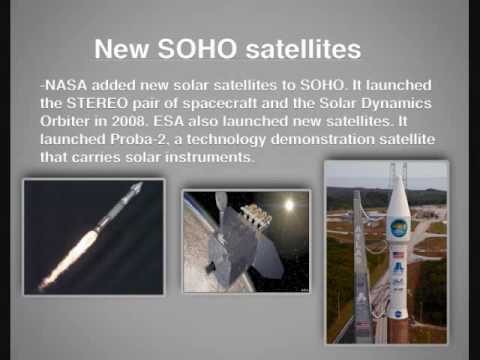 Soho space mission