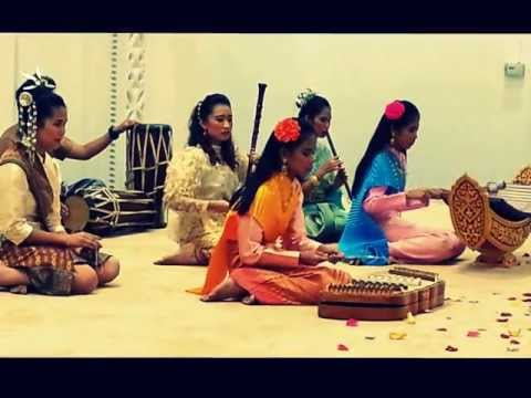 Thai traditional performance at Qatar international food festival closing ceremony