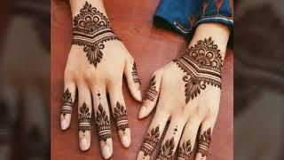 Latest mehndi designs for girls on Eid 2018
