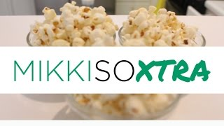 Savory Popcorn Tutorial (healthy Snacks)