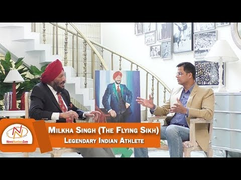 Interview with Milkha Singh (The Flying Sikh), Legendary Indian Athlete