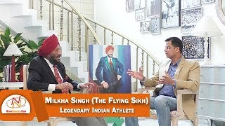 Interview with Milkha Singh (The Flying Sikh), Legendary Indian Ath...