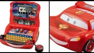 """Видео обзоры игрушек - Ноутбук """"Молния Маккуин""""  Learning Laptop"""