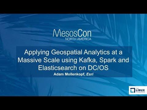Applying Geospatial Analytics at a Massive Scale using Kafka