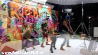 Videoclip Andreea Banica Rupem Boxele ( making of ) cu shift