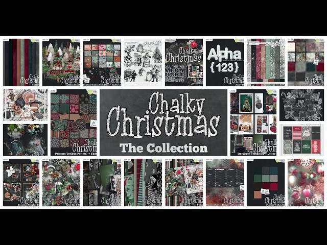 Chalky Christmas - Painters Toolbox
