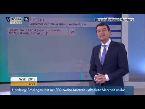 Wahl in Hamburg: Wahlanalyse von Jörg...