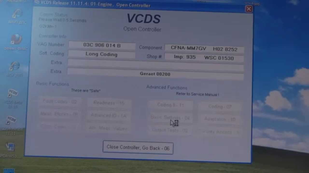 Адаптация дроссельной заслонки VAG. VW Polo Sedan.