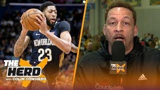 Chris Broussard breaks down Anthony Davis, Kyrie Irving & Klay Thompson rumors | NBA | THE HERD