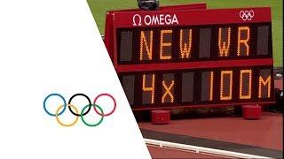 Jamaica Win 4x100m Relay Gold - London 2012 Olympics | Highlights