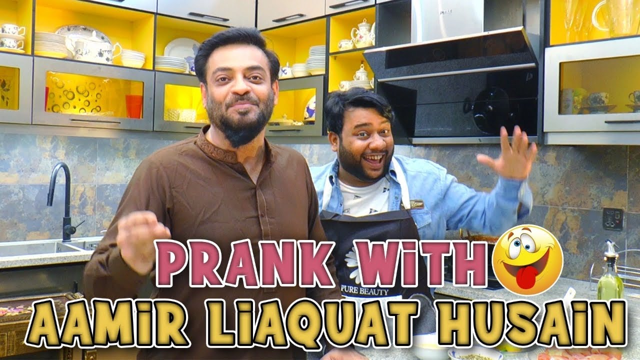 | Prank With Amir Liaquat Hussain | By Nadir Ali & Nadeem Usmani in | P4 Pakao | 2021