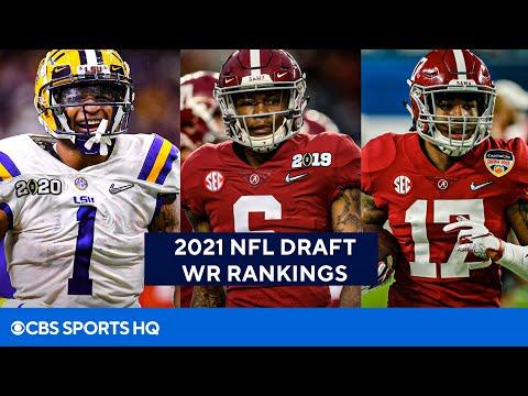 2021 NFL Draft Wide Receiver Rankings | CBS Sports HQ