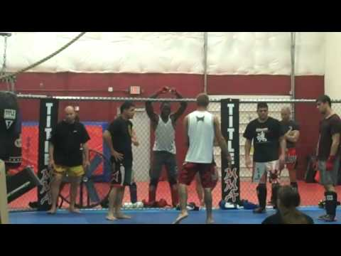 Cowboy Cerrone & Leonard Garcia Seminar @ Mase Training Center