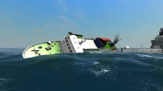 Ferry vs Coast Guard | Ship Simulator Extremes