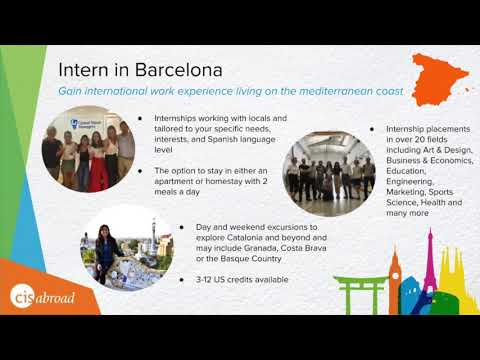 Intern in Barcelona Program Overview