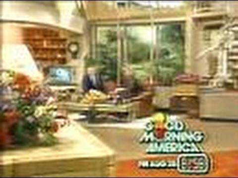 ABC Network  Good Morning America Commercial Break & Ending, 1981