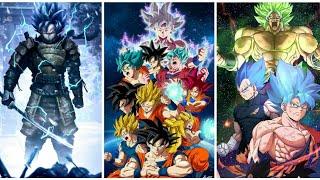 Dragon Ball Z Wallpapers | goku all forms wallpaper s