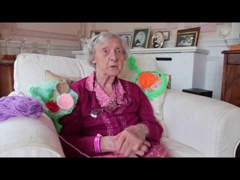 104 Year Old Yarn Bomber Is World's Oldest Street Artist