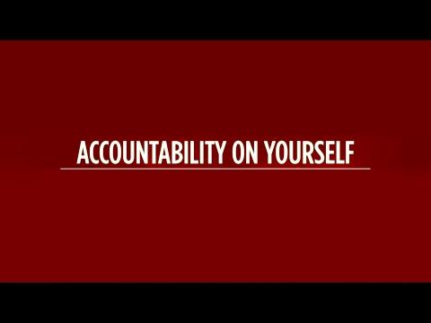 Turn the Spotlight of Accountability on Yourself