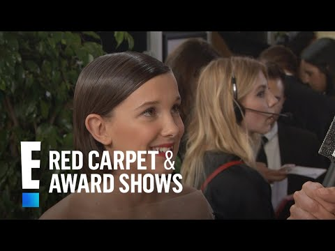 Thumbnail: Millie Bobby Brown Inspired by Adele at 2017 Golden Globes | E! Live from the Red Carpet
