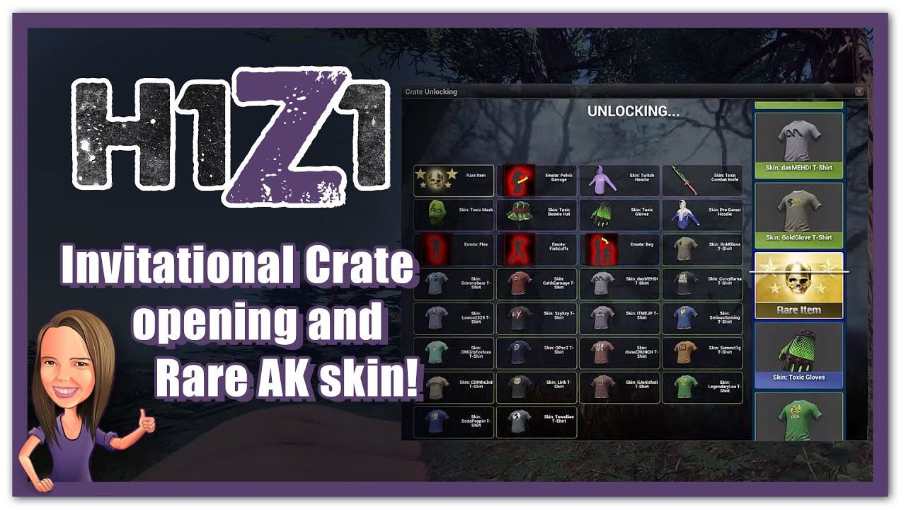 maxresdefault h1z1 invitational crate opening rare ak skin! youtube,Invitational H1z1 Crate