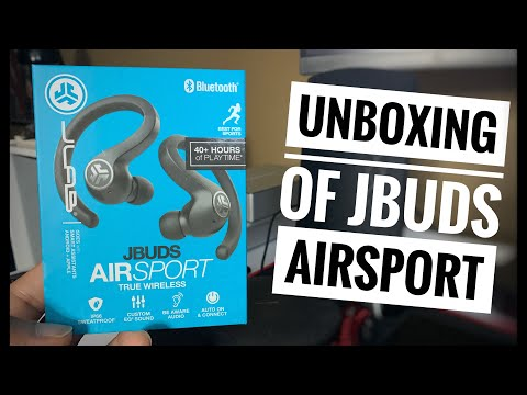 Unboxing of JLab Audio JBuds AirSport