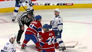 Tampa Bay Lightning Vs Montreal Canadiens. March 10th 2015. (HD)