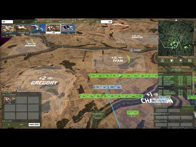 Batalla multijugador | 6vs6 | Wargame Red Dragon | #38