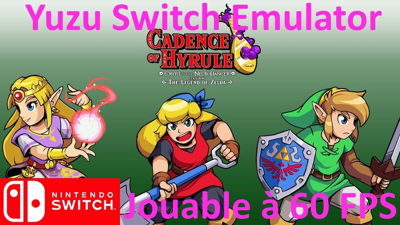 Cadence Of Hyrule 60 Fps Yuzu Swith Emulator Youtube