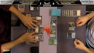 Magic the Gathering GP Liverpool 2018 Semifinals Team Modern