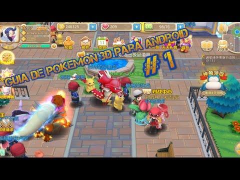 Guia De Pokemon 3d Juego Para Android Pokemon Chino Mandarin 2