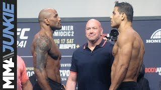 UFC 241: ceremonial weigh-in highlight