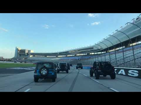 2019 Texas Motor Speedway Friday Night Jeep Parade & Drag Races