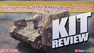 kit review dragon 6819 sturmpanzer ausf i als befehlspanzer in 1 35