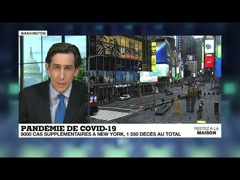 Coronavirus: avec 3 393 décès, les États-Unis dénombrent désormais plus de morts que la Chine