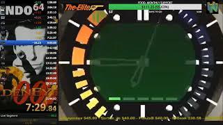 GoldenEye N64 Any% Speedrun 21:43.94 (WR)