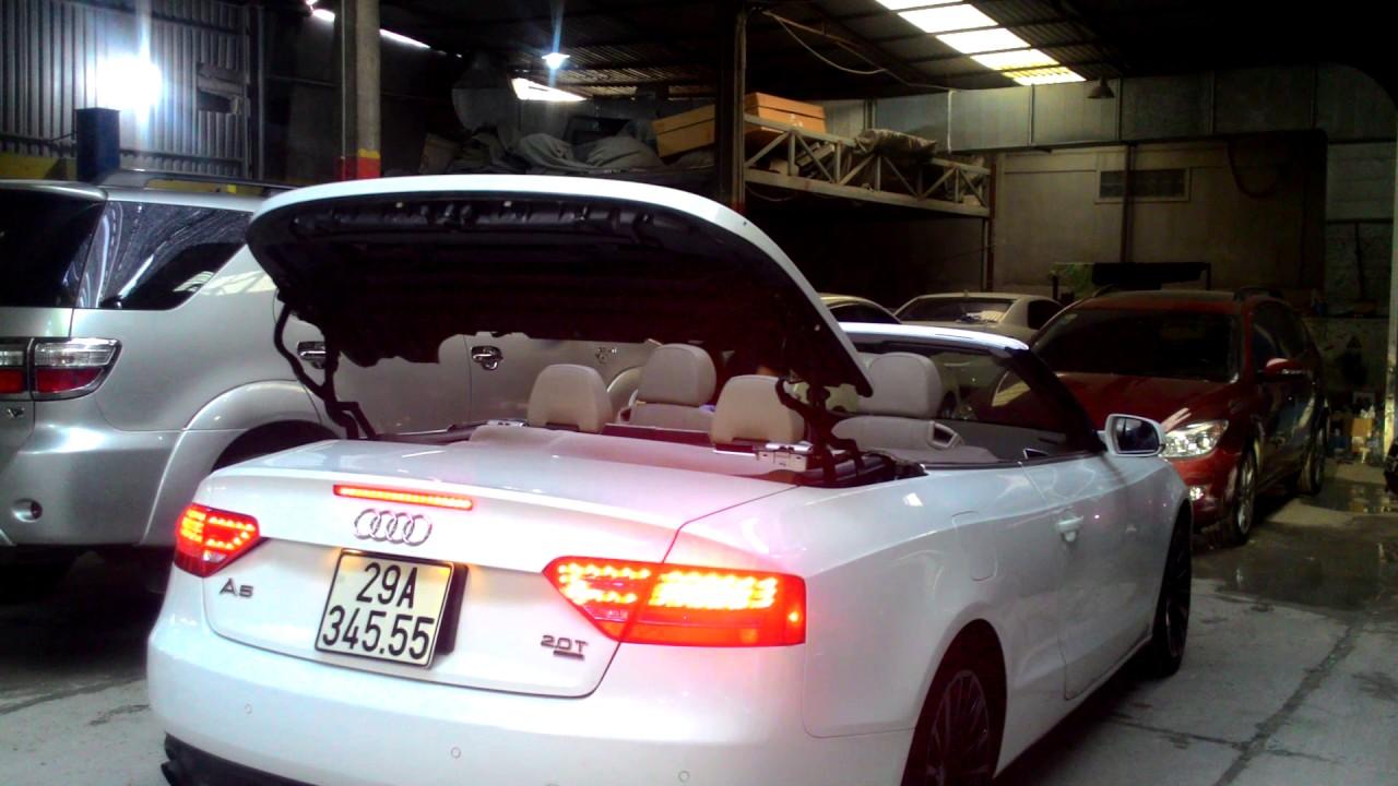 Khám Phá Xe Audi A5 2012, Mui Trần Gập Mui Tự Động