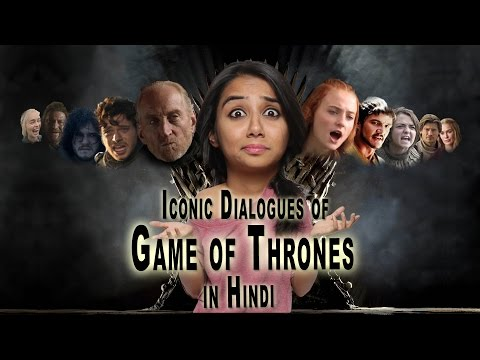 Game of  Thrones Dialogues Dubbed in Hindi | MostlySane | Latest Funny Video 2015
