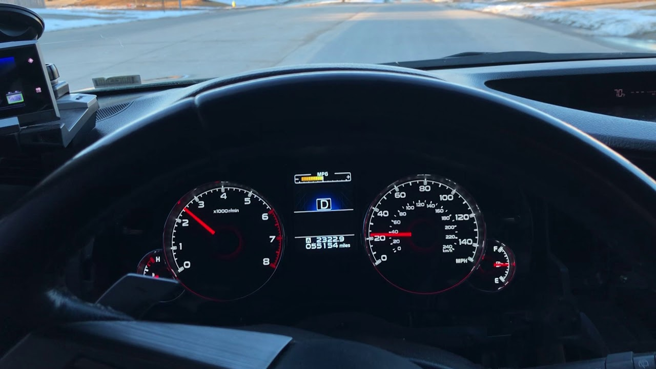 Upgrading 2010 Subaru Outback/Legacy Instrument Cluster to 2014 LIMITED  Outback/Legacy Cluster