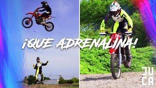 APRENDIENDO MOTOCROSS CON EL DRIFTER! | JUCA