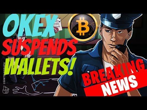 Bitcoin Drops 3% While OKEx Suspends Crypto Wallets on Exchange! Cryptocurrency News +TA!